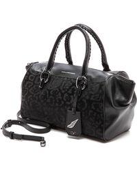 Diane Von Furstenberg Sutra Small Burnout Duffle Bag  Black - Lyst