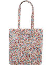 Cath Kidston - Ivory Garden Ditsy Handbag - Lyst