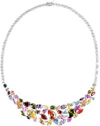 Cz By Kenneth Jay Lane Necklace - Lyst