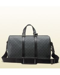 Gucci Gg Supreme Canvas Carry-on Duffle Bag - Lyst