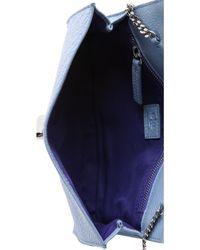 Ela - Mini Milck Cross Body Clutch - Pastel Blue - Lyst