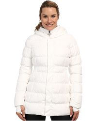 The North Face White Emma Jacket - Lyst