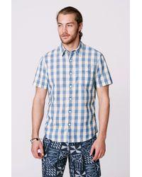 Faherty Brand Ss Seaview Shirt - Lyst