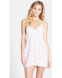 In Bloom By Jonquil Women'S Lace Chemise - Lyst