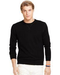 Polo Ralph Lauren Cashmere Crewneck Sweatshirt - Lyst