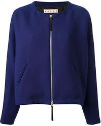 Marni Cropped Jacket - Lyst