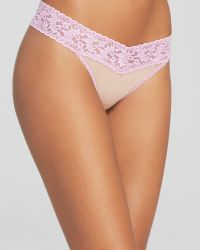 Hanky Panky Thong - Bloomingdale'S Exclusive Nude & Attitude Original Rise #331152 - Lyst