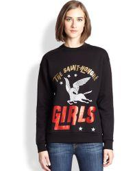 Être Cécile 'The Saint-HonorÉ Girls' Printed Cotton Sweatshirt - Lyst