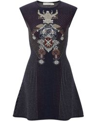 Mary Katrantzou Babel Robot Dress - Lyst