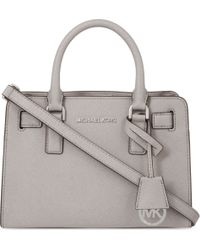 MICHAEL Michael Kors Dillon Small Saffiano Leather Satchel - Lyst