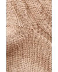 Rochas - Light Beige Socks - Lyst