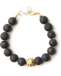 Amedeo | Lava Bead Bracelet | Lyst