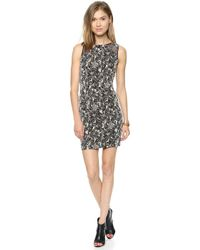 Alice + Olivia Thalia Shoulder Cut Out Shift Dress  - Lyst