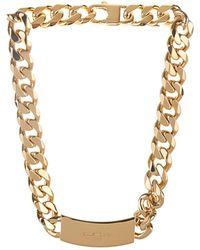 Balenciaga Arenastud Chain Necklace - Lyst