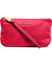 Michael Kors Michael Rhea Zip Large Pouch - Lyst