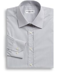 Saint Laurent Modernfit Fine Striped Dress Shirt - Lyst