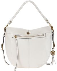 Elliott Lucca - Faro Leather Bucket Hobo Bag - Lyst
