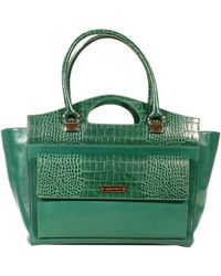 Alberta Ferretti Handbag Shopping Leather - Lyst
