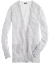 J.Crew Classic Merino Wool Long Cardigan Sweater - Lyst