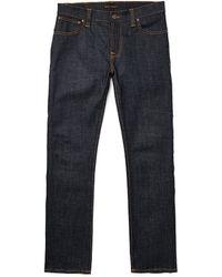 Nudie Jeans Dry Twill Thin Finn - Lyst