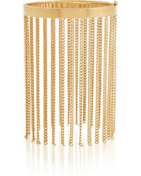 Chloé - Delfine Gold-tone Fringed Bracelet - Lyst