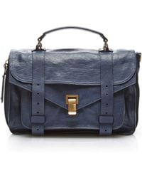 Proenza Schouler - Ps1 Medium Leather Satchel - Lyst