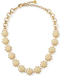 R.j. Graziano - Circle Line Necklace - Lyst