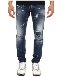 DSquared2 Cool Guy Snow Wash Jean - Lyst