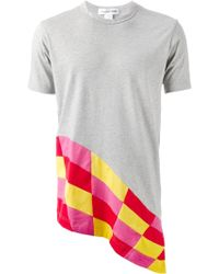 Comme des Garçons Patchwork T-Shirt - Lyst