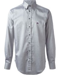 Etro Classic Button Down Shirt - Lyst