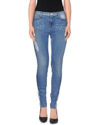 J Brand Denim Trousers blue - Lyst