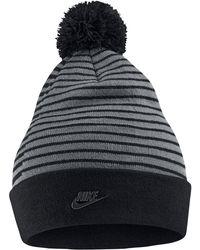 outlet store 1ec57 5b6e4 Nike Arkansas Razorbacks Beanie Sideline Pom Hat in Red for Men - Lyst