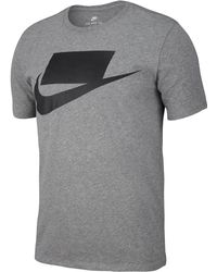 977bbd2a Nike Innovation Swoosh Logo T Shirt White in White for Men - Lyst