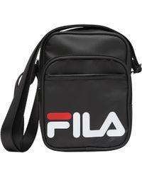 a543ec57d9 Fila Vintage Shoulder Bag in Gray for Men - Lyst