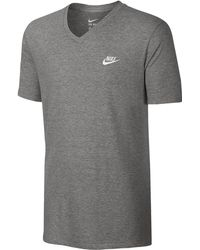 43dc76fb Nike 'Tee-Futura Icon' Graphic T-Shirt in Gray for Men - Lyst