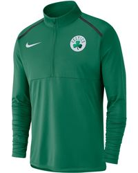 bb911ba2 Nike Men's Element Dri-fit Half-zip Running Shirt in Green for Men ...