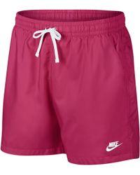 b68284643d Nike Flow Dot Shorts in Black for Men - Lyst