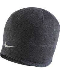965226c64 Nike Cuffed Dri-fit Run Beanie in Black for Men - Lyst