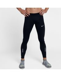 a2095c513c8bf Nike Dri-fit Shield Running Pants in Green for Men - Lyst