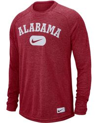 2b62a11f Nike Oklahoma Sooners Long Sleeve Player T-shirt in Gray for Men - Lyst