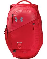 8608585555a Under Armour Ua Hustle 3.0 Backpack in Blue - Lyst