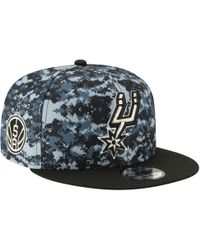 timeless design 3c130 79d3a KTZ San Antonio Spurs 90s Throwback Roadie 9fifty Snapback Cap in Black for  Men - Lyst