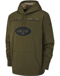 610d322d827 Nike Men's Pittsburgh Steelers Salute To Service Hybrid Quarter-zip  Pullover in Green for Men - Lyst
