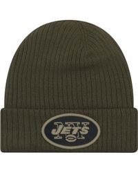 official photos 529e9 758fc KTZ New York Giants Salute To Service Knit Hat in Green for Men - Lyst
