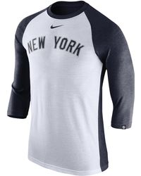 1f7a0a476 Red Jacket 'new York Yankees - Double Play' Jersey Henley in Gray ...