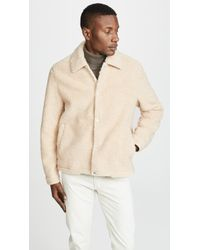 Vince - Sherpa Coaches Jacket - Lyst