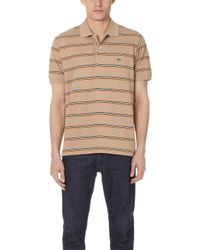 Lacoste - Striped Classic Polo Shirt - Lyst