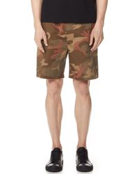 The Silted Company - Tropic Camo Shorts - Lyst
