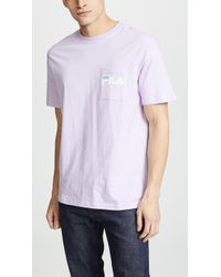 Fila - Curtis Pocket Tee - Lyst