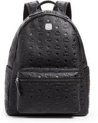 2de6892cad MCM Killian Backpack In Lambskin Leather in Black for Men - Lyst